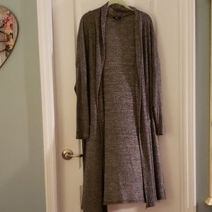 G by Giuliana Duster Long Cardigan  Jacket Plus 3X
